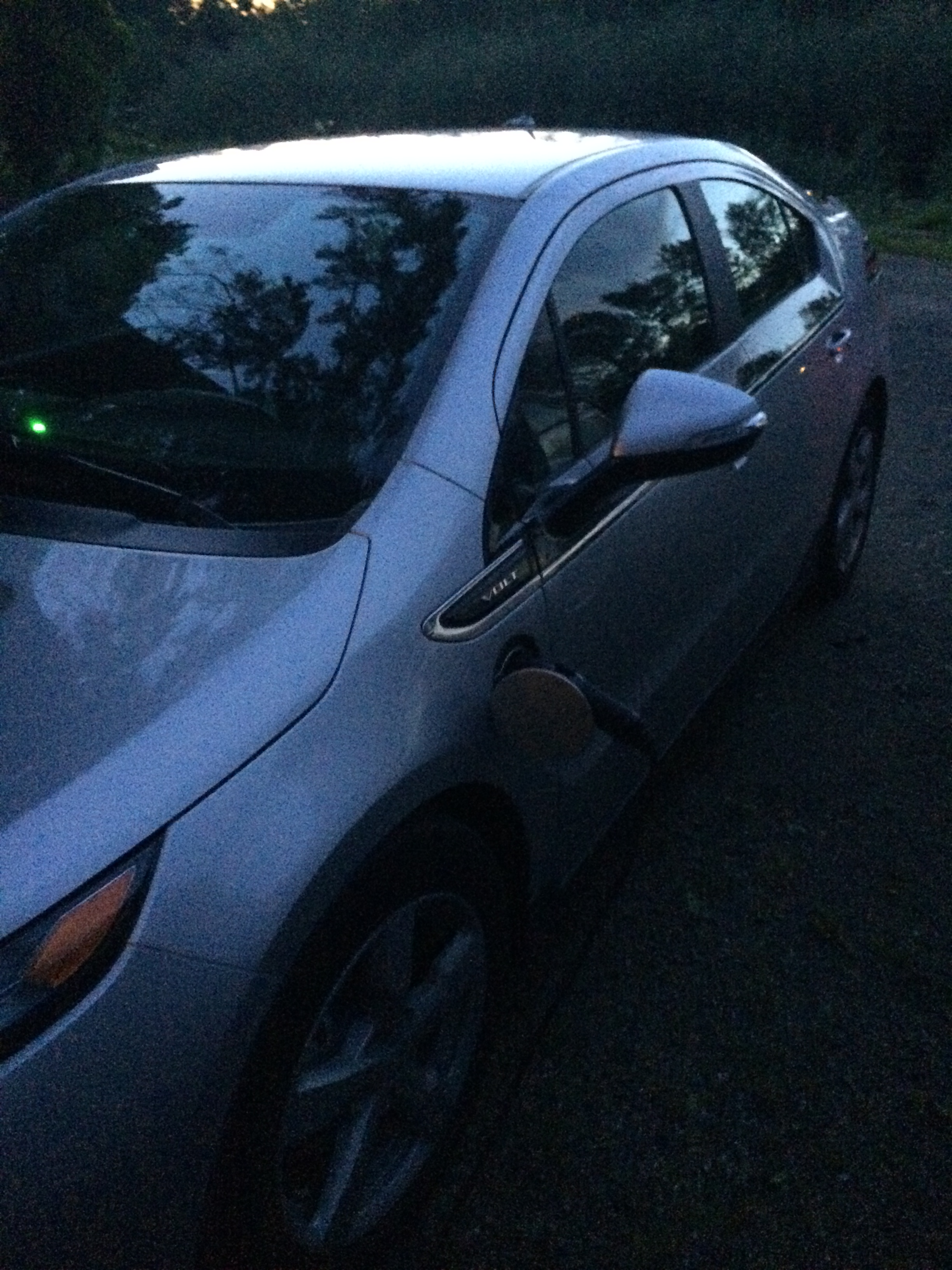 Car Pnw Runner Chevy Volt Gas My Dad Was Super Generous And Decided To Gift Me The Ill Be Saving So Much Money On With Did I Mention That Hate Getting